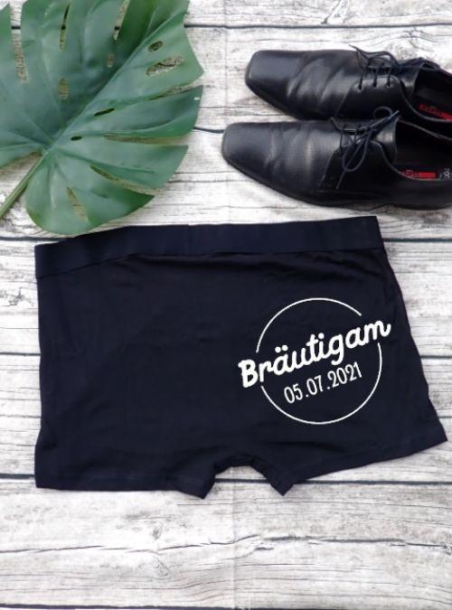 Boxershorts Bräutigam