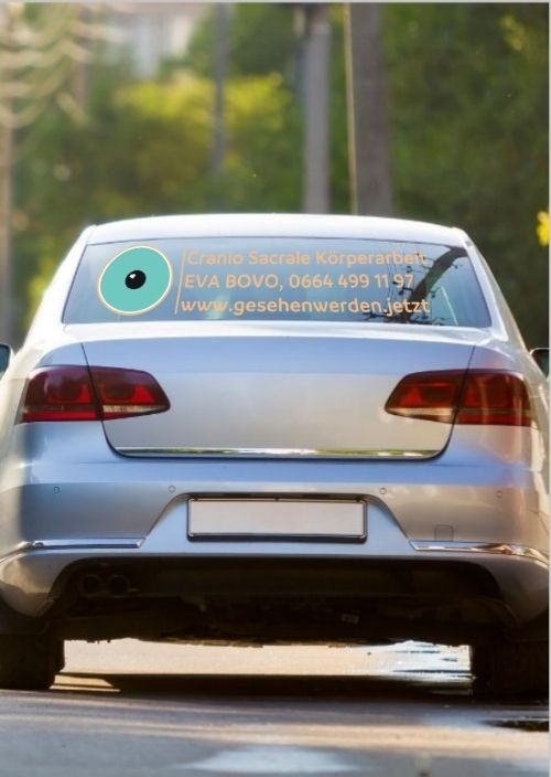 Aufkleber Firmenlogo für Auto